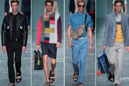 Лето 2015: мужчины на подиуме