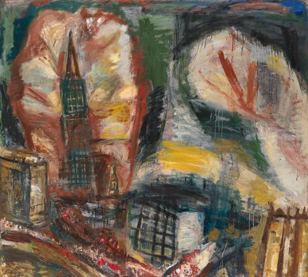 Pavel Nikonov, Fireworks, 1989. Estimate 20,000-30,000 GBP