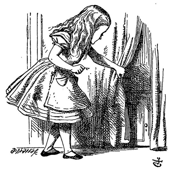 В лондонском Музее мультфильмов проходит выставка, посвященная сказке Льюиса Кэрролла «Алиса в стране чудес», а точнее, тому, как ее персонажи в разное время изображались на рисунках, плакатах и карикатурах.