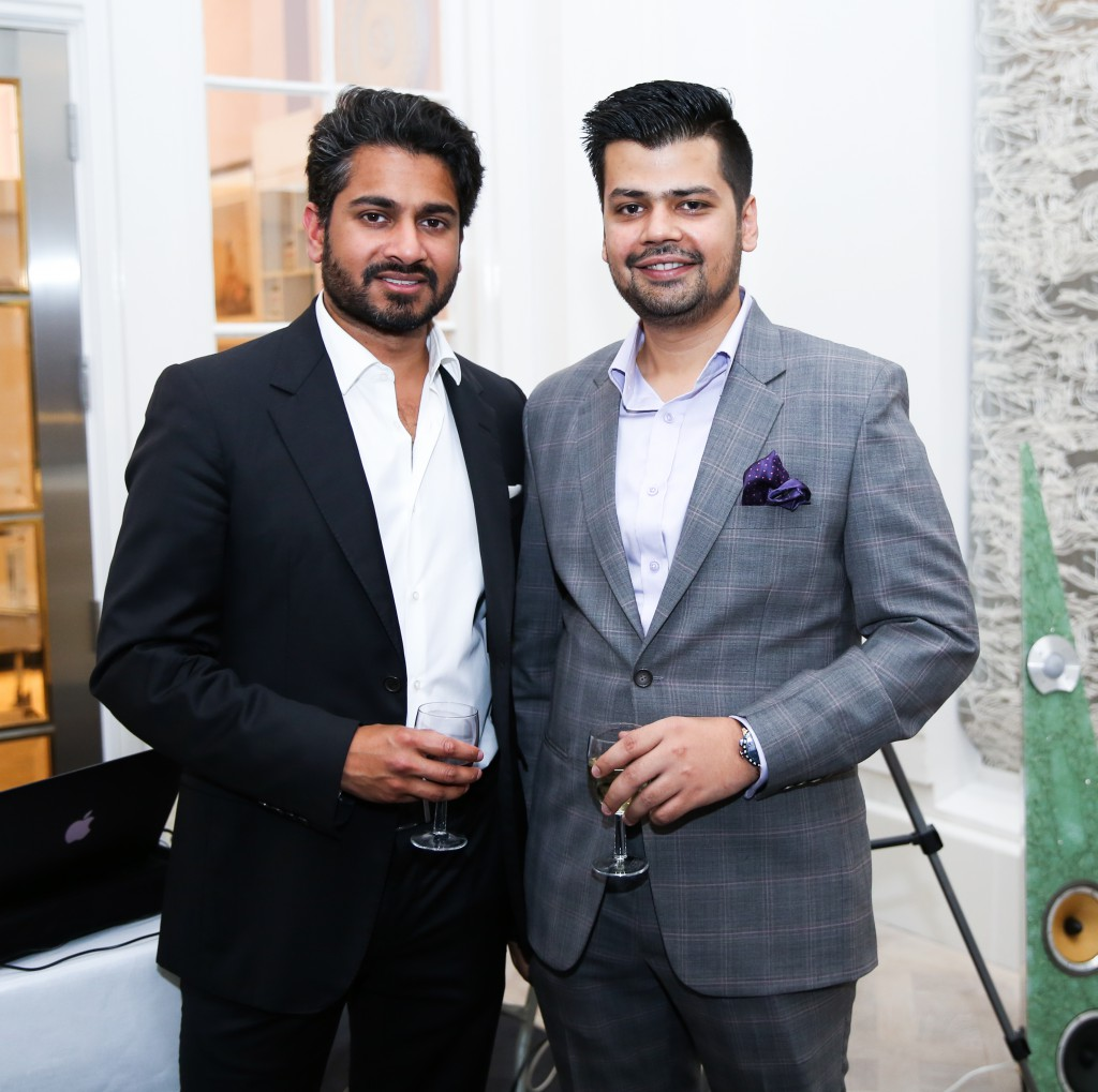 Conrad Carvalho (Oaktree & Tiger Gallery) and Mayank Soni (Loupe)