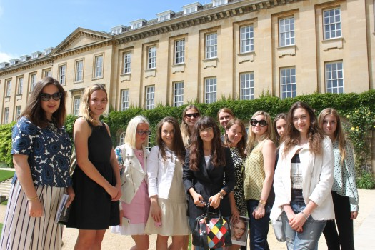 Мирослава Дума в Оксфорде