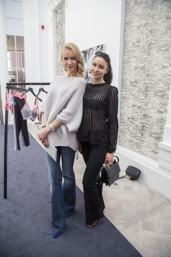 Татьяна Корсакова, дизайнер и владелица бренда Vaara, Эмма Миллер, актриса и модный блоггер