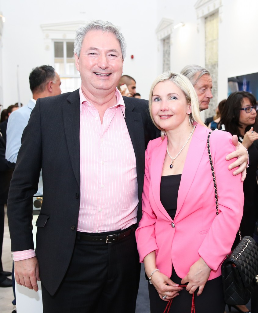 Viktoria Nazarenko (H&M) and Ian Duncan