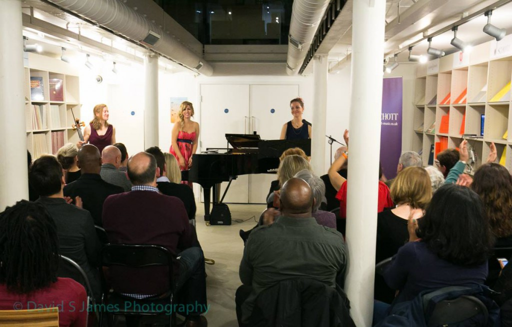 Evelina De Lain Trio - photo by David S James (1)
