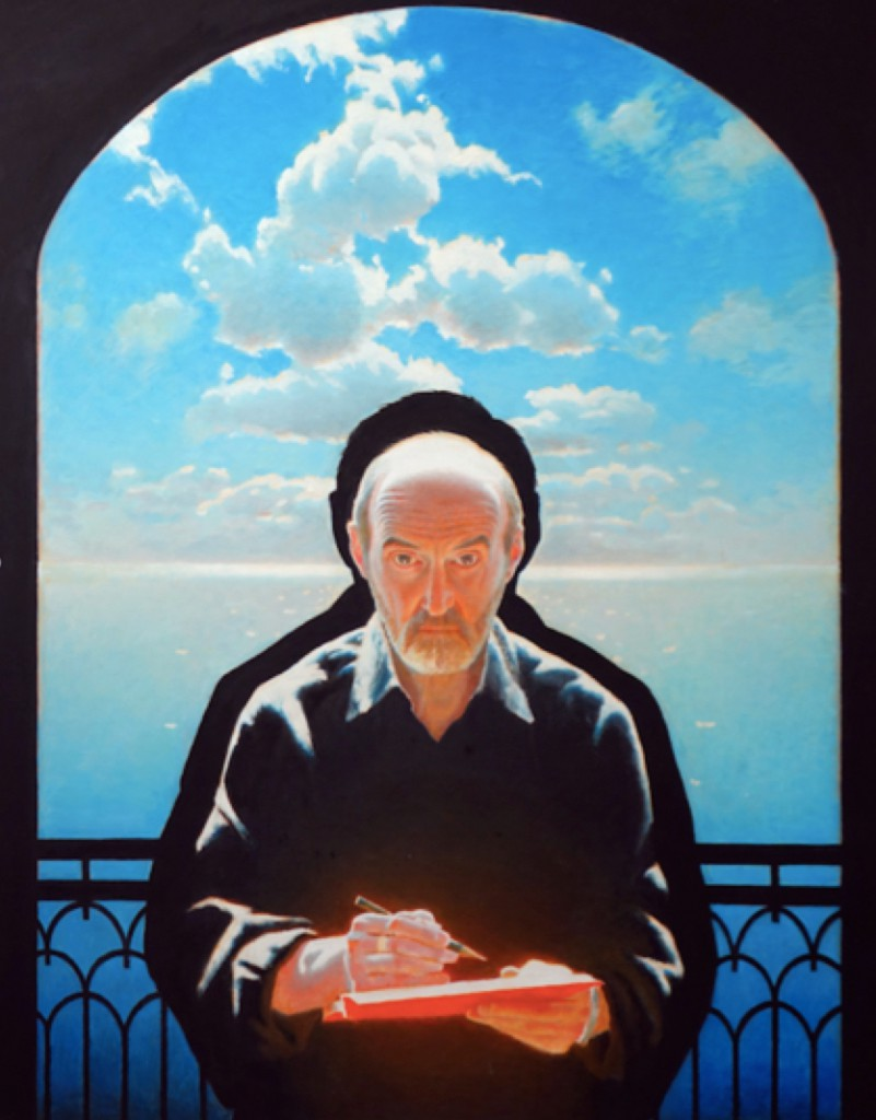 Erik Bulatov, Autoportrait, 2011. Oil on canvas, 146.5cm x 114cm. Courtesy of the artist.