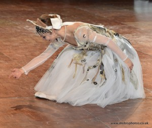 Прима-балерина Большого театра Евгения Образцова