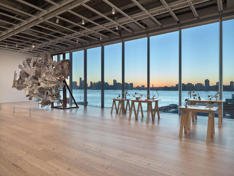 Installation View of Frank  Stella A Retrospective
