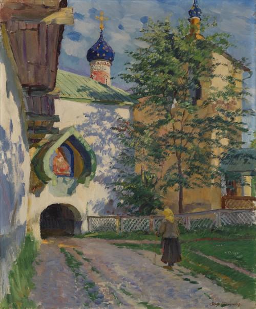 6 Sergei Vinogradov Church of St Nicholas Inner Entrance to the Monastery