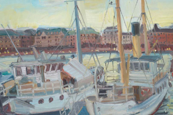 Выставка произведений художника Андрея Дубова