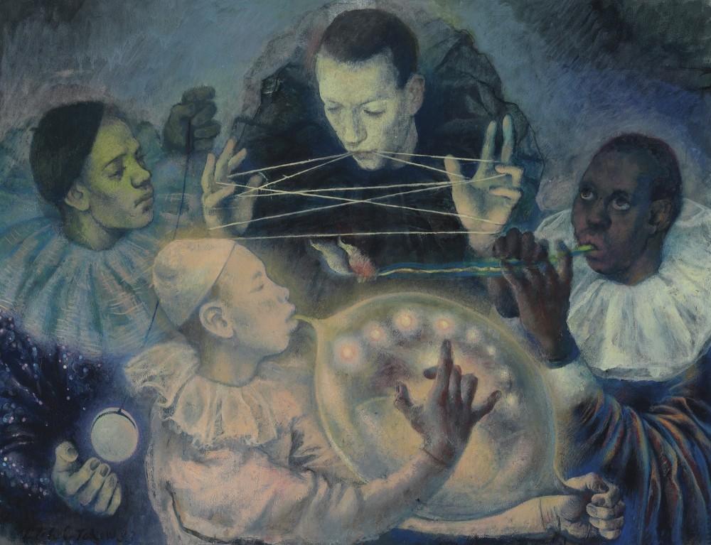 Топ-лот аукциона: Павел Челищев (1898-1957) «Концерт» Эстимейт: £250 000 - 350 000 Стоимость: £1 385 000