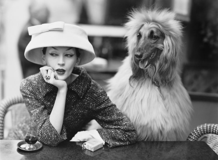 Dovima-with-Sacha-cloche-and-suit-by-Balenciaga-Café-des-Deux-Magots-Paris-1955.-Photograph-by-Richard-Avedon-©-The-Richard-Avedon-Foundation-750x550