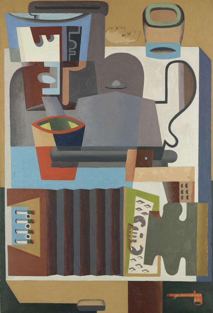 Le Corbusier, Accordeon