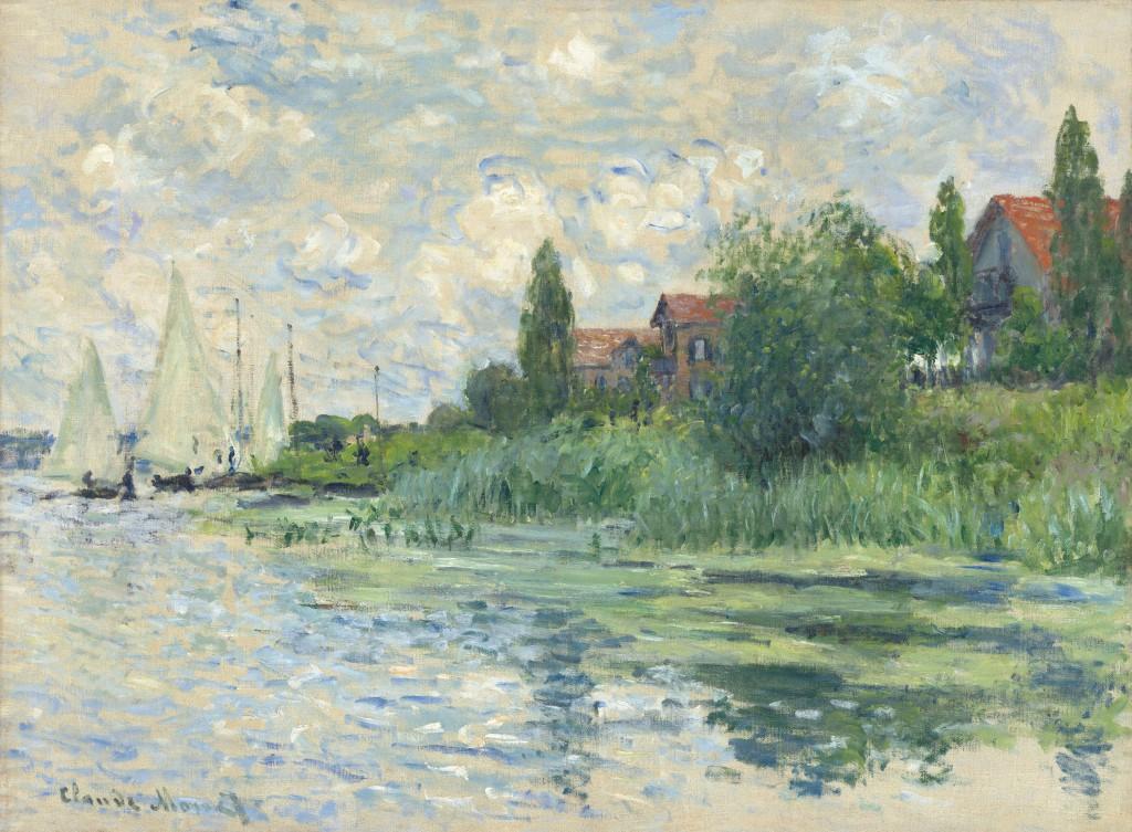 Monet, Les Bords de la Seine au Petit-Gennevilliers