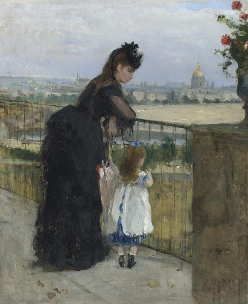 Morisot, Feme et enfant