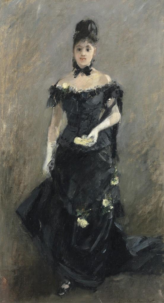 Morisot, Femme en Noir