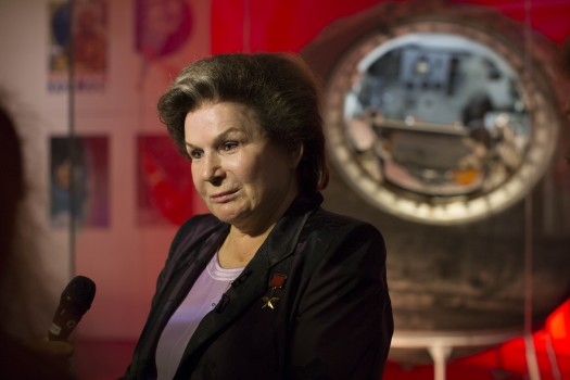 Валентина Терешкова в Музее науки