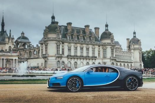 Сверхмощный гиперкар Chiron от Bugatti