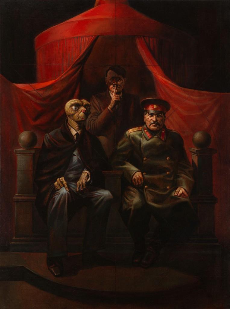 Виталий Комар, Александр Меламид, «Ялтинская конференция», из серии «Ностальгический социалистический реализм», 1982. £80 000–120 000