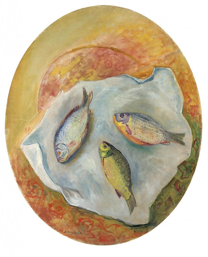 Давид Штеренберг, «Натюрморт с рыбой». £150 000–200 000