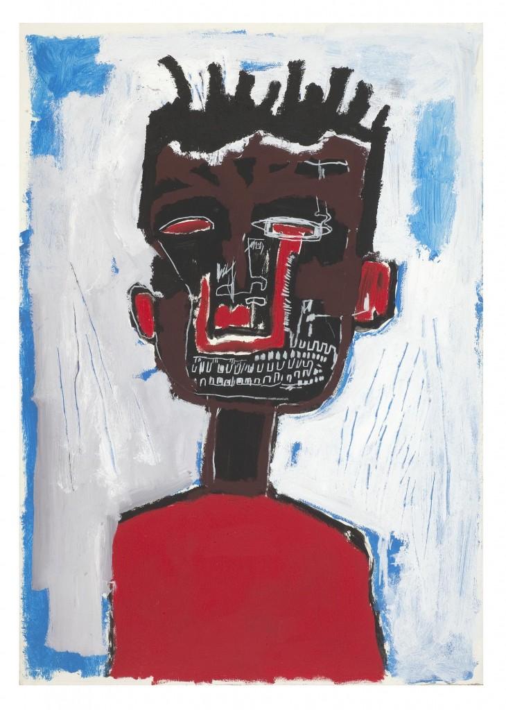 Жан-Мишель Баския. Автопортрет, 1984