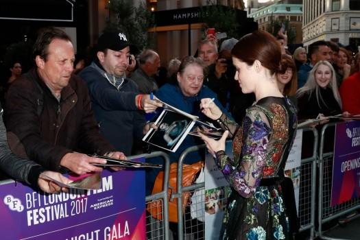 Старт 61 кинофестиваля BFI в Лондоне