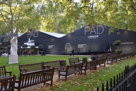 Выставка дизайна PAD London