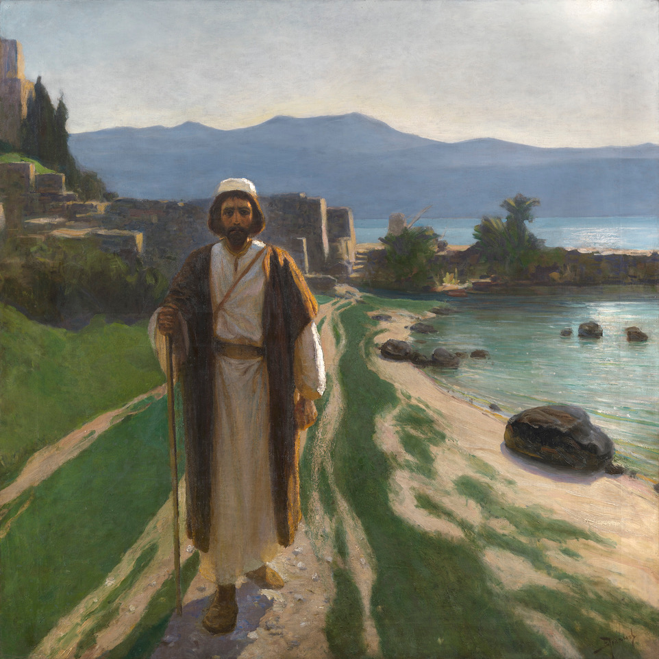 Polenov, Vasily He Resolutely Set Out for Jerusalem