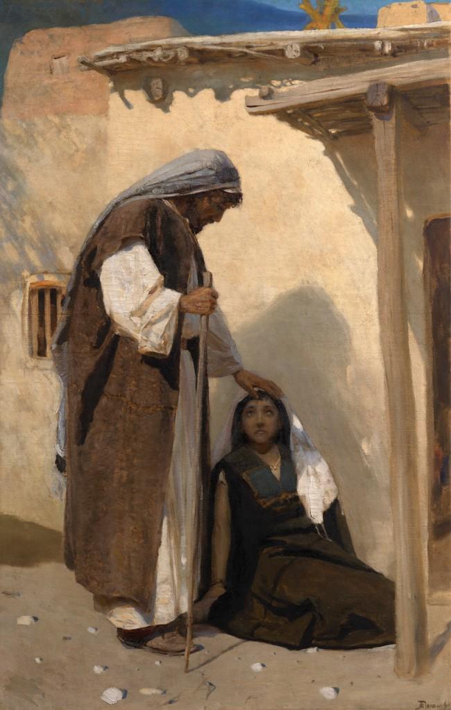Василий Поленов, «Христос и Мария Магдалина» 360 000–500 000 GBP