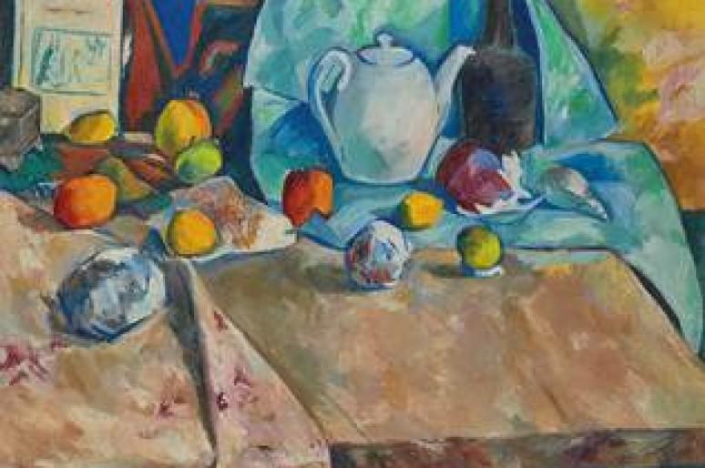 Полотно Натальи Гончаровой «Натюрморт с чайником и апельсинами» продано за £2 408 750