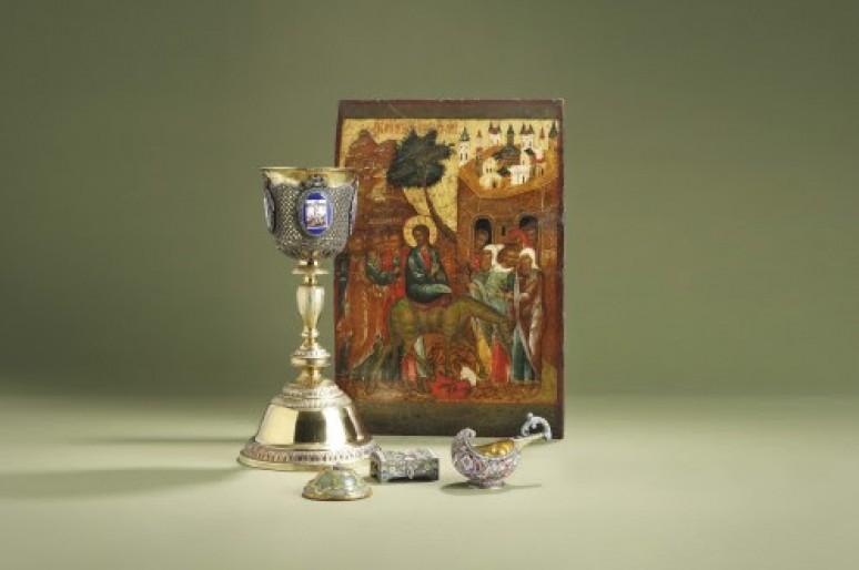 Уникальные русские иконы будут выставлены на аукционе в Лондоне