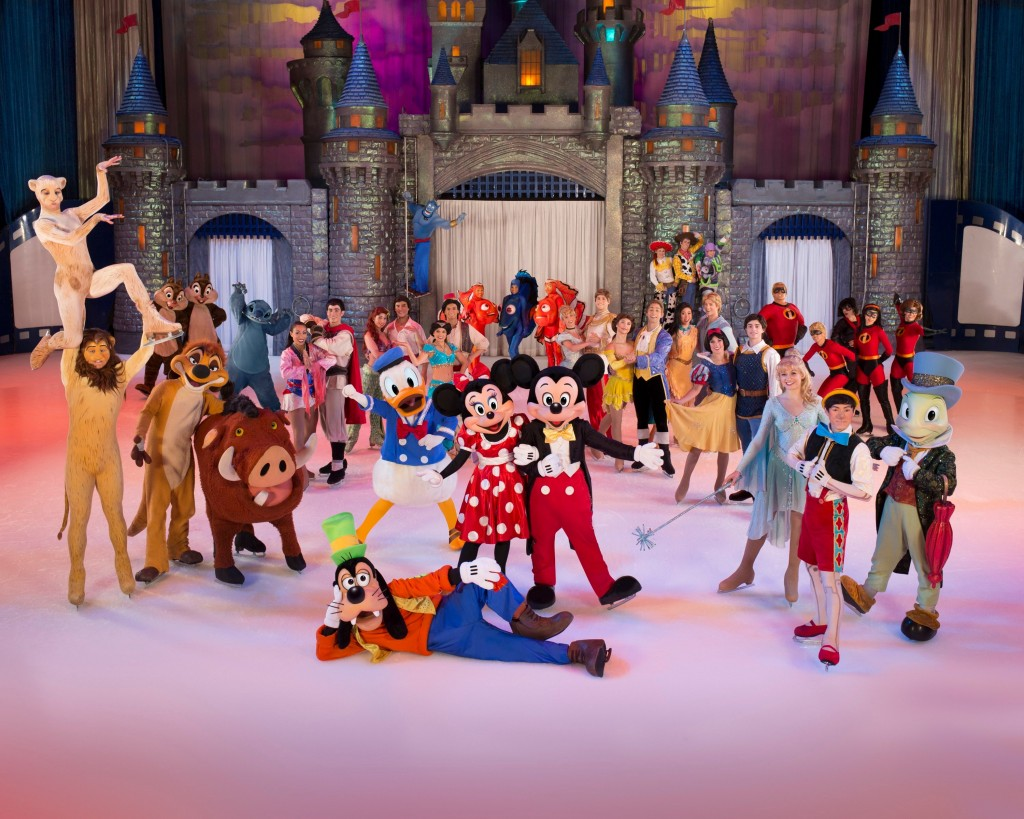 5disney on ice