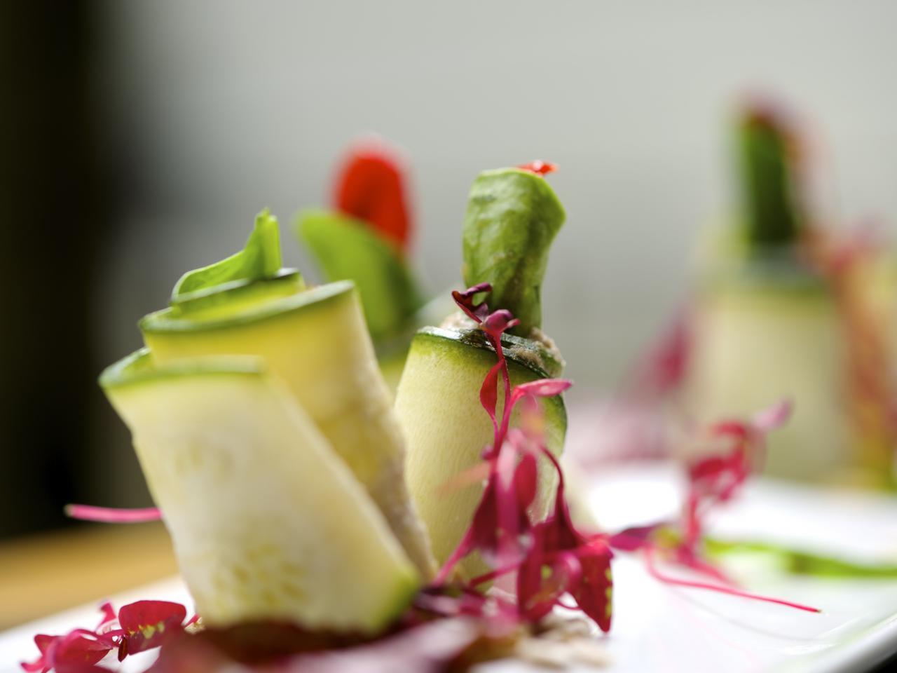 Веганское меню ресторана Nosh Garden Kitchen