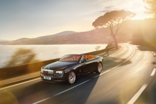 Rolls-Royce Dawn: непревзойденный комфорт
