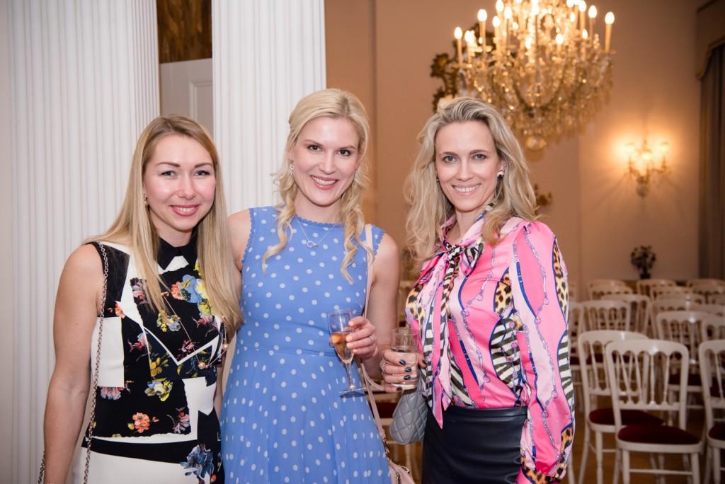 Olga Vysokova, Alyona Tarasova, Natasha Kuznetsova-Rice