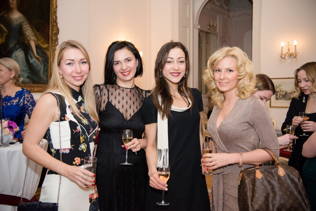 Olga Vysokova, Katerina Ukhankova (Kalido Private office), Tatiana Potashova (Global Citizen Realty), Daria Ratobylskaya (RGL Capital)