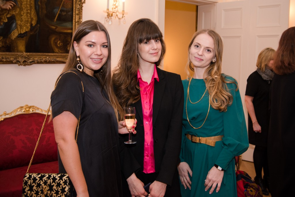 Julia Oleynikova, Alina Milos (Lin&Lo), Julia Kosko (EducAd Consulting)
