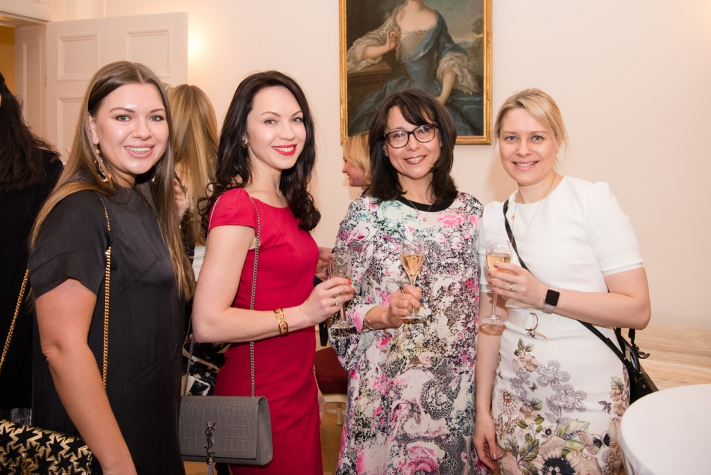 Julia Oleynikova, Genia Silva (Lush Petals), Karina Baldry (Russian Revels), Luda Beanland (Schoolgate Accountants)