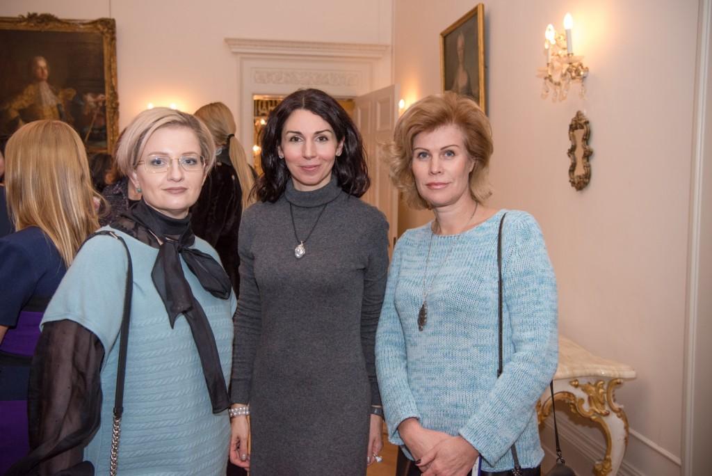 Elena Jacobson, Natalia Barshchevskaya, Irina Lisitsyna