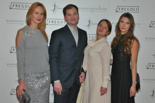 Гости гала-вечера «Иконы русского балета»