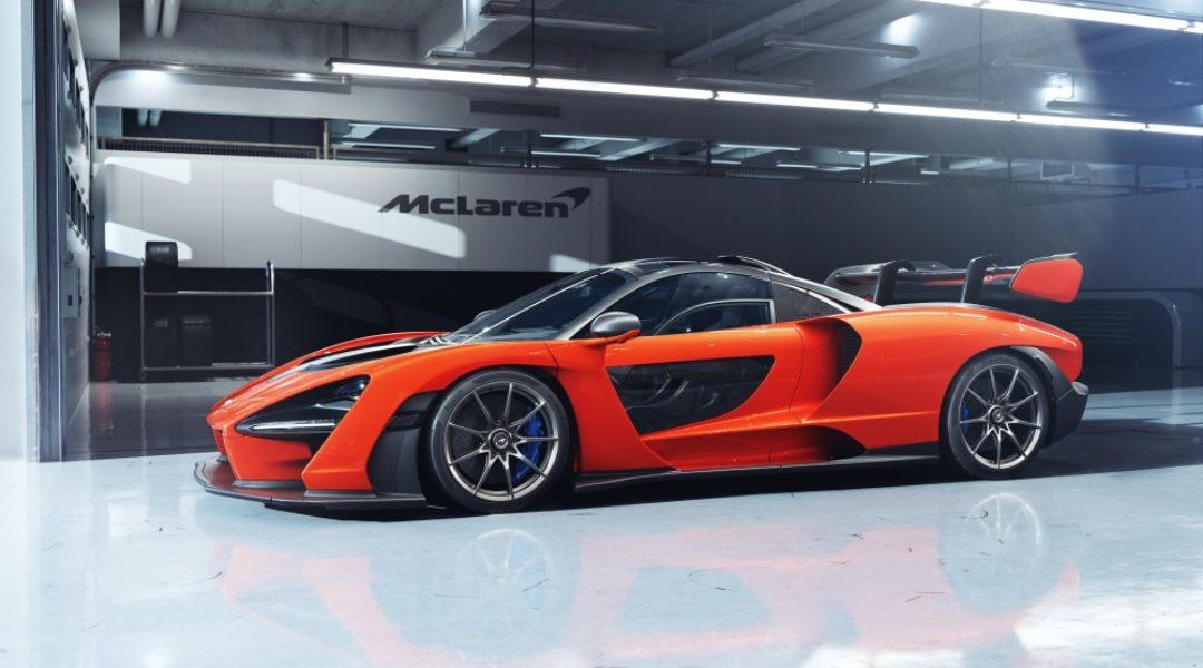 McLaren Senna: экстремальный гиперкар