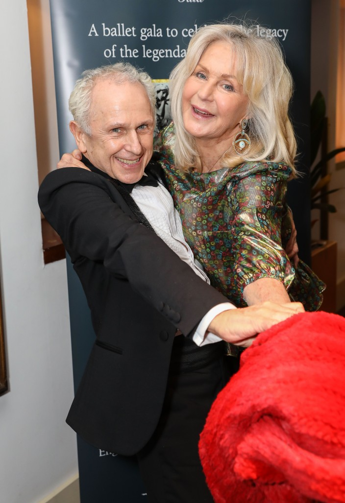 LONDON, ENGLAND - FEBRUARY 25: Wayne Sleep and Liz Brewer attend the Russian Ballet Icons Gala 2018 at London Coliseum on February 25, 2018 in London, England. (Photo by David M. Benett/Dave Benett/Getty Images for Ensemble Productions)