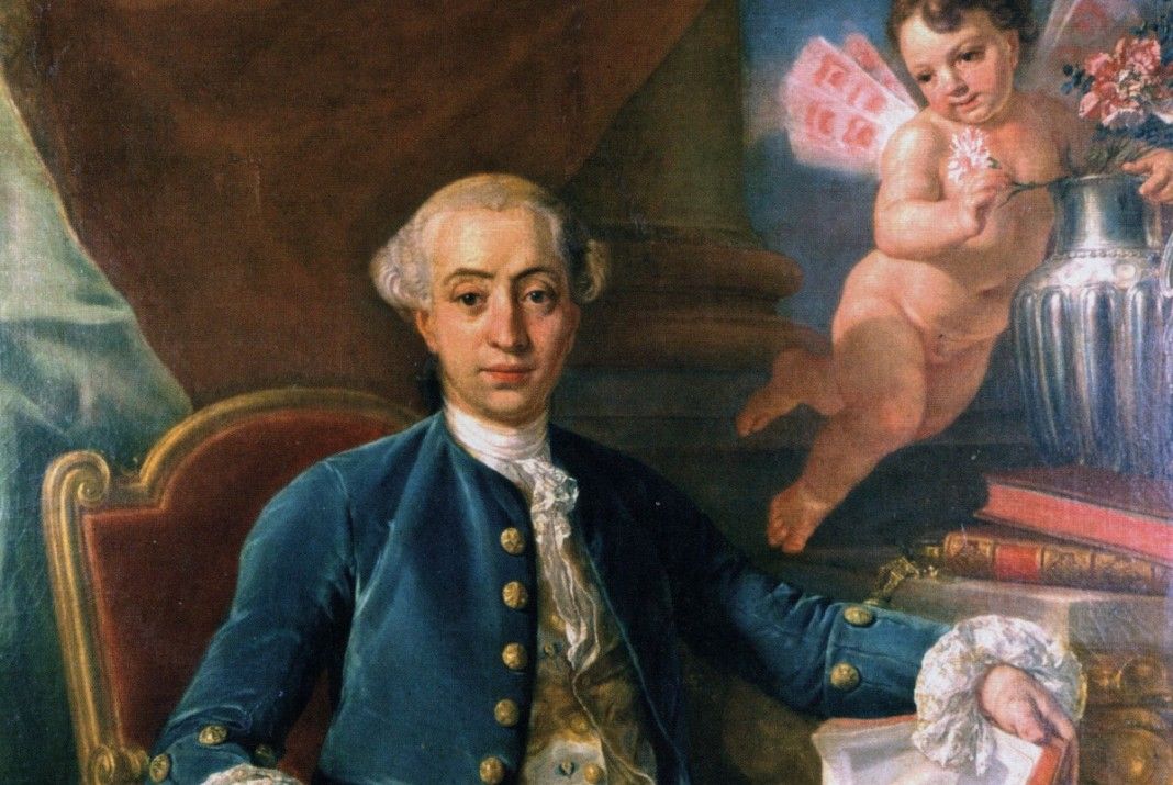 Giacomo Casanova by Anton Raphael Mengs