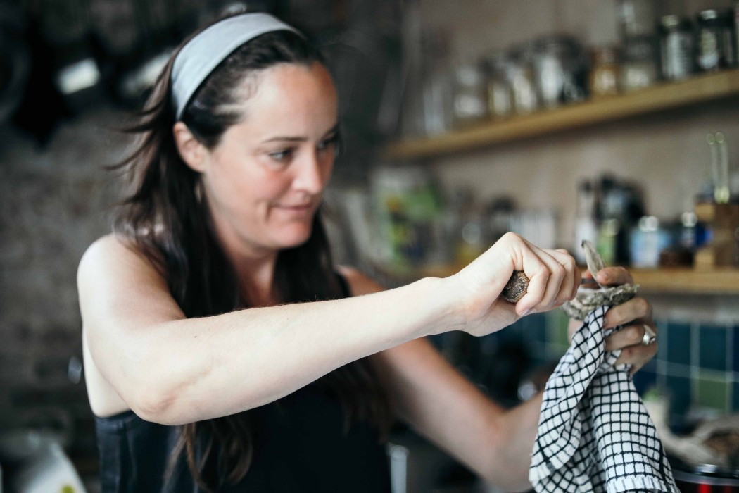 Основатель London Oyster Week Кейти Дэйвидсон