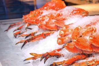 Камчатский краб в ресторане Fancy Crab