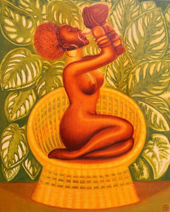 Elvira Pyrkova. Lady Garden. Coconut Milk. 2