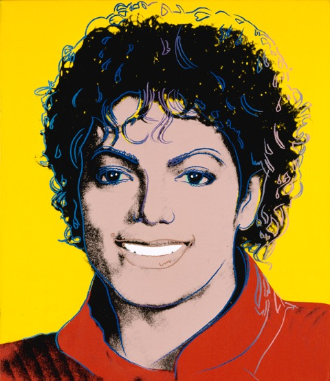 071_Michael Jackson by Andy Warhol