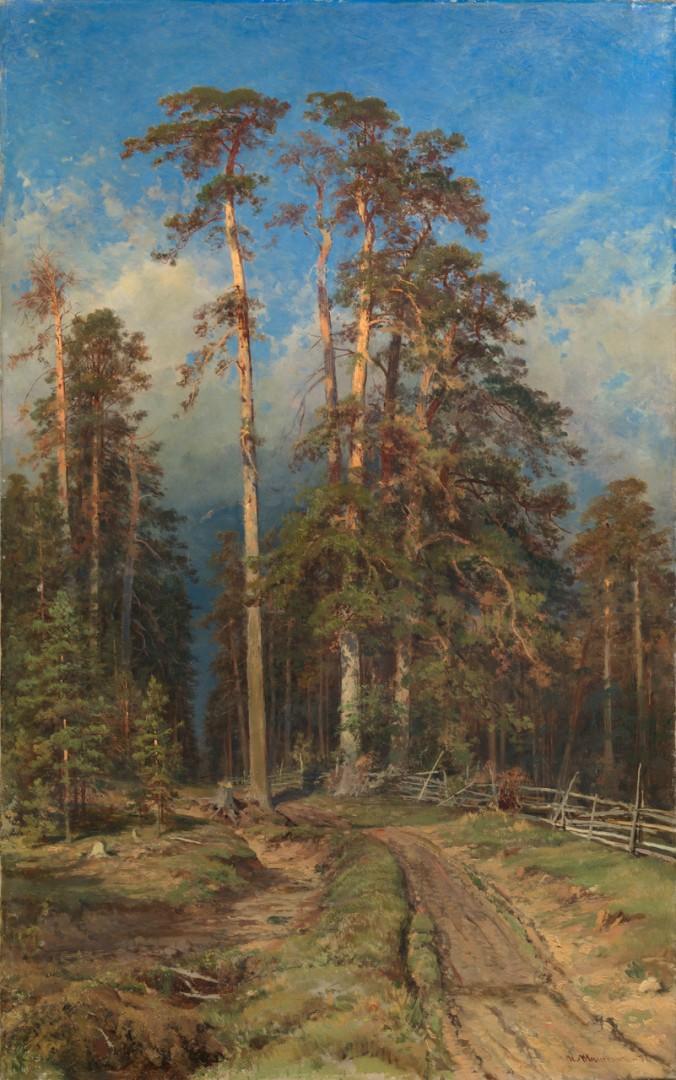 Иван Шишкин, «Сосновый бор. Елабуга», 1897. 800 000–1 200 000 GBP
