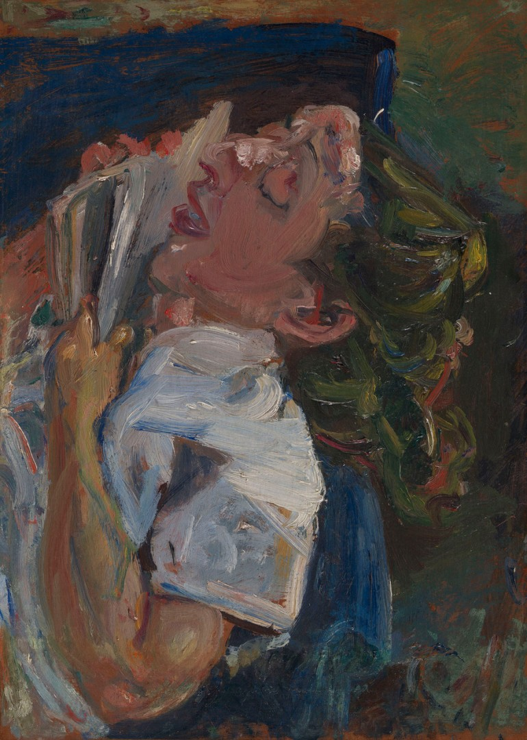 Хаим Сутин, «Уснувшая с книгой. Мадлен Кастен», ок. 1937. 300 000–500 000 GBP