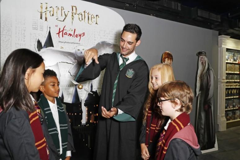 Мир Гарри Поттера в Hamleys