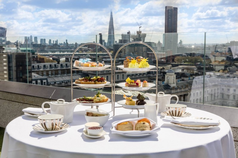 Radio Rooftop Bar To Introduce Skyline Afternoon Tea